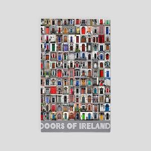 Ireland Door Poster 23x35 3'x5' Area Rug