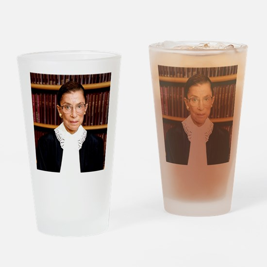 ART Coaster Ruth Bader Ginsburg Drinking Glass