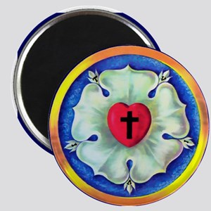 Luther Seal Round Magnet (100 pack)