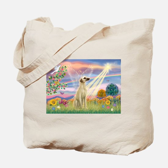 Cloud Angel & Sloughi Tote Bag