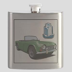 TR4green-4 Flask
