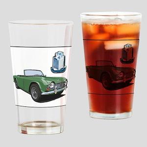 TR4green-4 Drinking Glass
