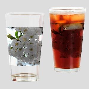 Cherry Blossom Drinking Glass
