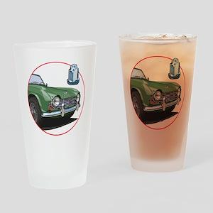TR4green-C8trans Drinking Glass