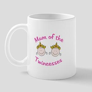Mum of Twincesses Mug