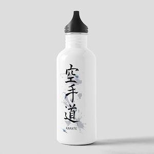 Karate kanji Stainless Water Bottle 1.0L
