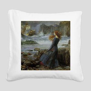 Miranda Square Canvas Pillow