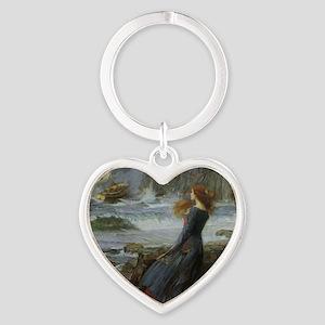 Miranda Heart Keychain