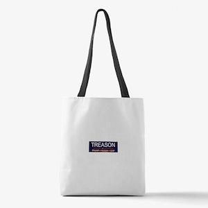 Trump Treason Polyester Tote Bag