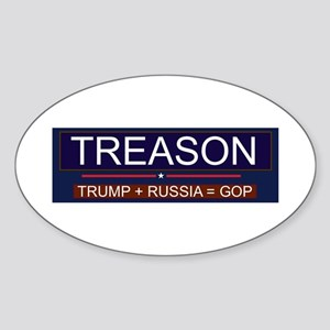 Trump Treason Sticker