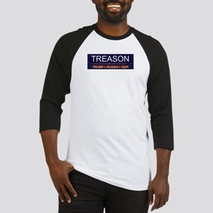 Trump Treason Baseball Jersey