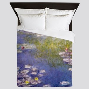 Nympheas at Giverny Queen Duvet