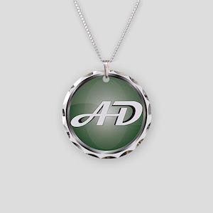 AD Logo Necklace Circle Charm