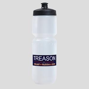 Trump Treason Sports Bottle