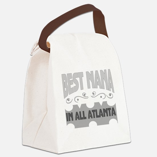 Atlanta Georgia Canvas Lunch Bag