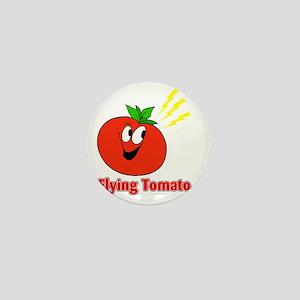 flying tomato Mini Button