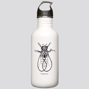 2-fly with words Stainless Water Bottle 1.0L