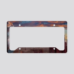 City Panorama License Plate Holder