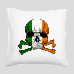 irish bad ass_plain Square Canvas Pillow