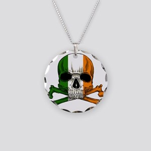 irish bad ass_plain Necklace Circle Charm