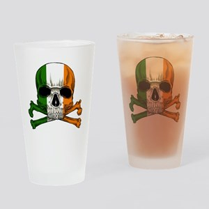 irish bad ass_plain Drinking Glass