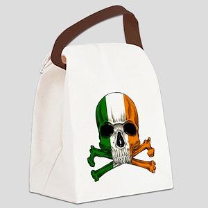 irish bad ass_plain Canvas Lunch Bag