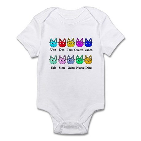 Spanish Counting Infant Bodysuit