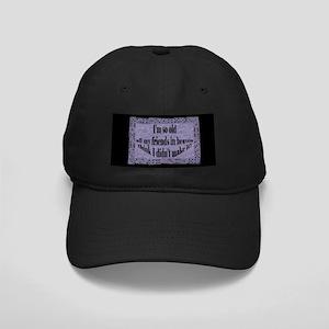 Ol' Farts Black Cap