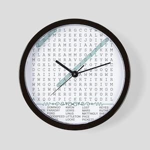 wordsearch2 Wall Clock