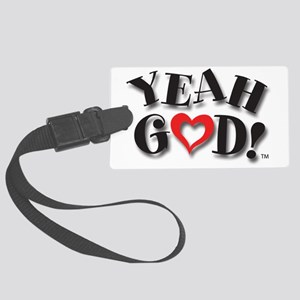 Y-God Logo for CP Large Luggage Tag