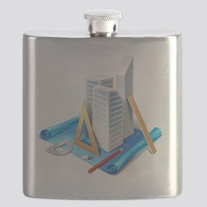 Architecture and Drawings Flask