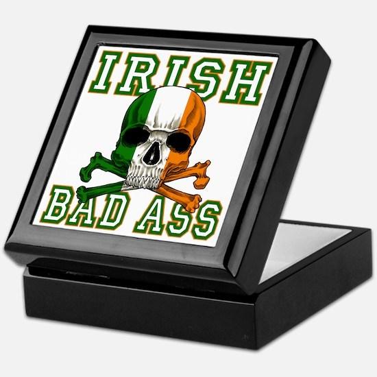 irish bad ass Keepsake Box