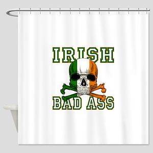 irish bad ass Shower Curtain