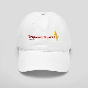 Tripawd Power Flying Three Legged Dog Bowl Cap