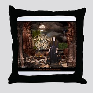 Hecate Queen of Sacred Knowle Throw Pillow