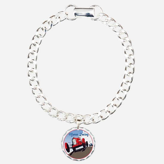MotorRacing-C8trans Bracelet
