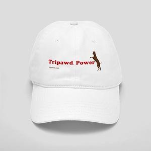 Tripawd Power Three Legged GSD Dog Bowl Cap
