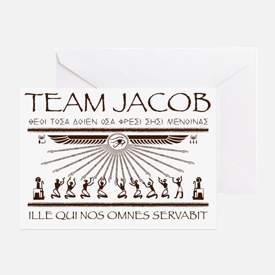 Team Jacob Greeting Card