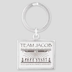 Team Jacob Landscape Keychain