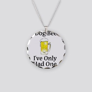 Dog Beers Necklace Circle Charm