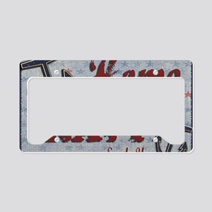 postcard License Plate Holder