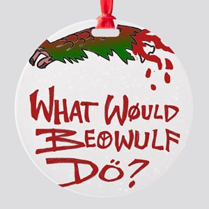 Beowulf Round Ornament