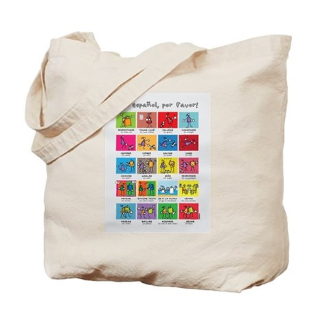 Tote Bag - boxing bears by VIDA VIDA 0cSHR
