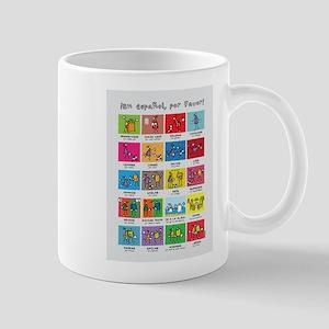En español por favor poster Mugs