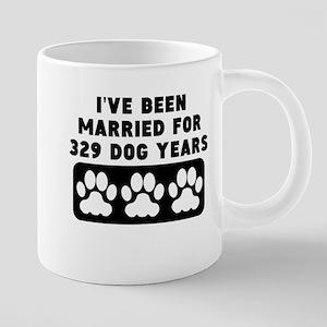 47th Anniversary Dog Years Mugs