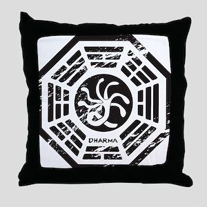 HydraVintage Throw Pillow
