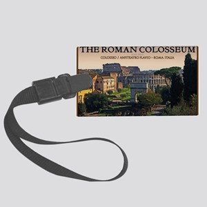 Rome - Forum and Colosseum Large Luggage Tag