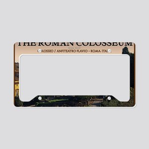 Rome - Forum and Colosseum License Plate Holder