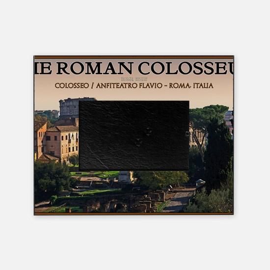 Rome - Forum and Colosseum Picture Frame