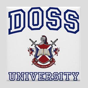 DOSS University Tile Coaster